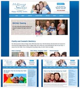 Dentist Website MKS